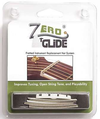 Genuine Zero Glide ZS-26F Slotted nut replacement system for Fender J-Bass