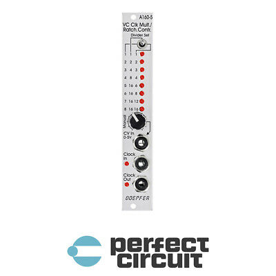Doepfer A-160-5 VC Ratcheting Clock Multiplier EURORACK NEW - PERFECT CIRCUIT