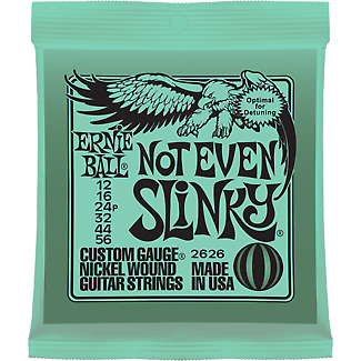 Ernie Ball 2626 Not Even Slinky Electric Guitar Strings 12-56 • 3.58£