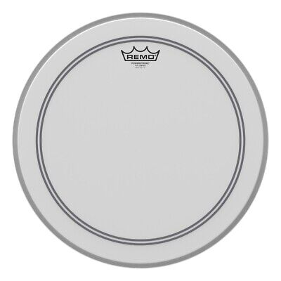 Remo Coated Powerstroke P3 16 Inch Bass Drum Head : 2.5 Impact Patch