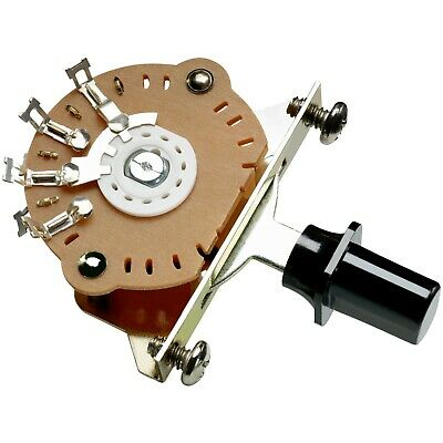 NEW DiMarzio 3-Way Switch Pickup Selector For Fender Tele With Knobs EP1105 • 14.27£