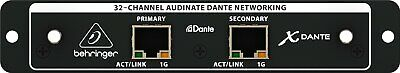 Behringer X-DANTE Audinate Dante Expansion Card For X32 • 459.13£