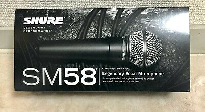 SHURE SM58-LCE Cardioid Dynamic Microphone No Switch Recording Live Performance • 98.85£
