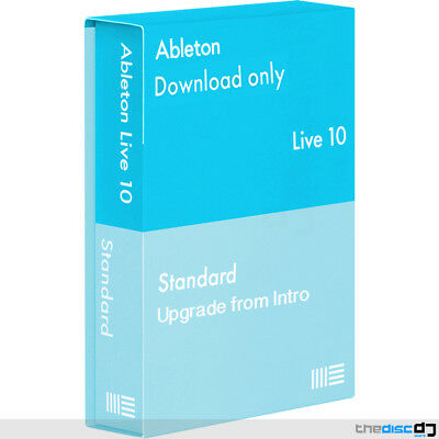 Ableton Live 10 Standard DAW Software, Upgrade From Intro Download • 267£