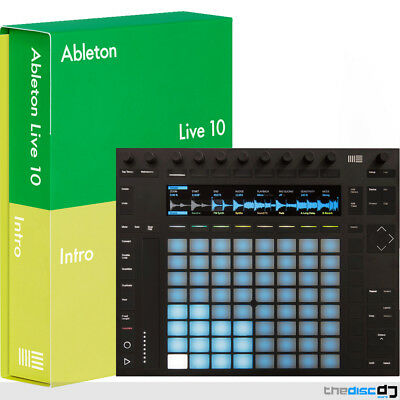 Ableton Push 2 Music Production Controller + Ableton Live Intro 10 DAW Software • 599£
