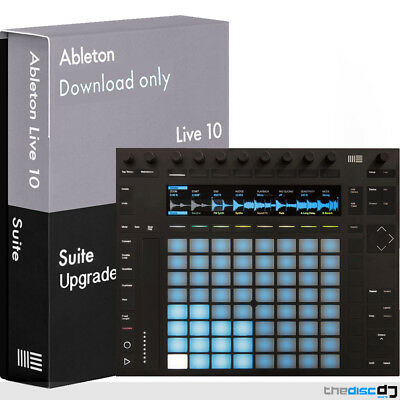 Ableton Push 2 DAW Music Production Controller + Live 10 Full Suite (Download) • 1,048£