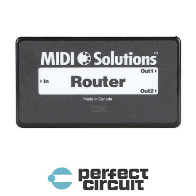 MIDI Solutions Router MIDI Data Filter INTERFACE - NEW - PERFECT CIRCUIT • 90.04£