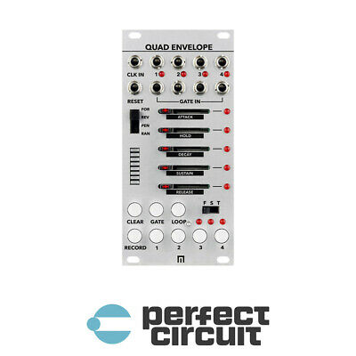 Malekko Heavy Industry Quad Envelope EURORACK - NEW - PERFECT CIRCUIT • 236.16£