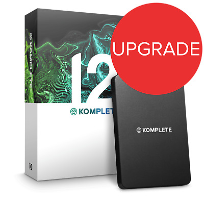 Native Instruments Komplete 12 UPG From K12 Select (Boxed) • 299£