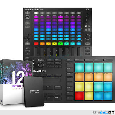 NI Maschine Mikro MK3 + Maschine Jam & Komplete 12 Ultimate Production Bundle • 1,219£