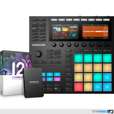 Native Instruments Maschine MK3 + Komplete 12 Ultimate Production Bundle Deal • 1,269£