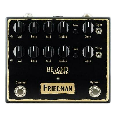 Friedman BE-OD Deluxe Dual Overdrive Pedal • 202.62£