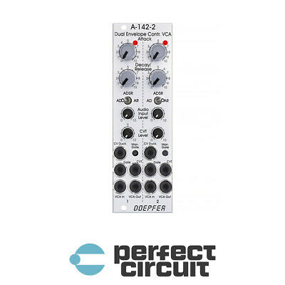 Doepfer A-142-2 Dual Envelope Controlled VCA EURORACK - NEW - PERFECT CIRCUIT • 116.56£