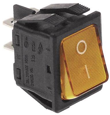 Rocker Switch For Fagor FI-80, FI-30, LVC-21W, LVC-15D, Iberital-Macchine 250V • 8.95£