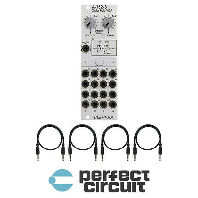 Doepfer A-132-8 Octal Poly VCA EURORACK - NEW - PERFECT CIRCUIT • 160.54£