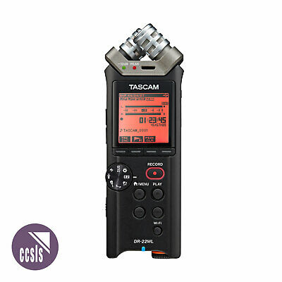 Tascam DR22WL Portable Handheld Recorder With Wi-Fi • 142.01£