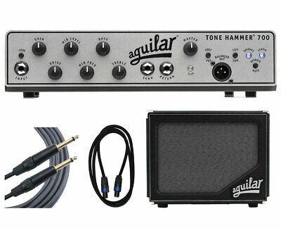 Aguilar Tone Hammer 700 + SL 112 Cabinet + Cables • 1,394.23£