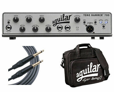 Aguilar Tone Hammer 700 + Carry Bag + Mogami Cable • 836.78£