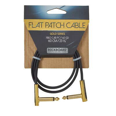 RockBoard Flat Patch Gold Series Cable 60cm / 23.62
