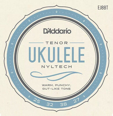 Tenor Ukulele Strings D'Addario Nyltech EJ88T Uke Strings Set • 8.83£
