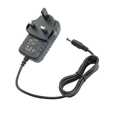 UK AC/DC Power Supply Adapter for TC Electronic Polytune 2 Mini Pedal Tuner