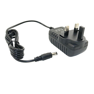 Uk Plug Mains Ac Power Supply Adapter For Boss Rc-30 Dual Track Looper Station • 4.75£