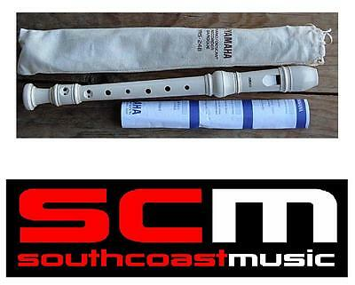 Musical Instrument Sale New Yamaha YRS24b Descant Soprano Recorder & Bag YRS-24B • 10.41£
