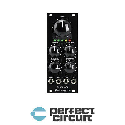 Erica Synths Black VCA V2 Amplifier EURORACK - NEW - PERFECT CIRCUIT