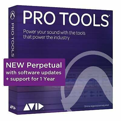 Avid Pro Tools 2020 Perpetual License With Annual Upgrade Plan (Serial Download) • 549£