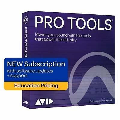 Avid Pro Tools 2018.12 Annual Subscription Educational (Serial Download) • 95£