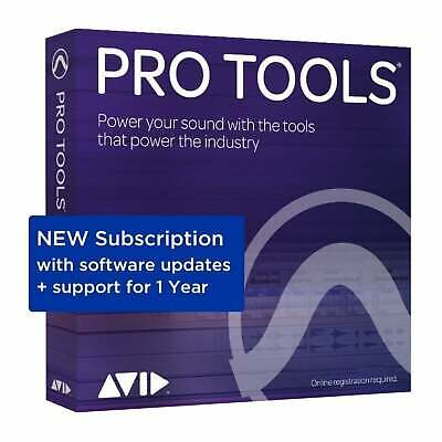 Avid Pro Tools 2018.12 Annual Subscription (Serial Download) • 249£