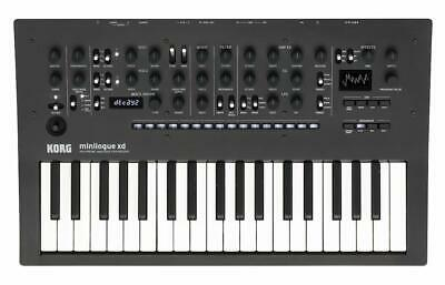 KORG digital multi-engine equipped with polyphonic analog synthesizers mini