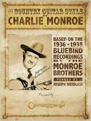 Joseph Weidlich: The Country Guitar Style Of Charlie Monroe, New, Hal Leonard Bo