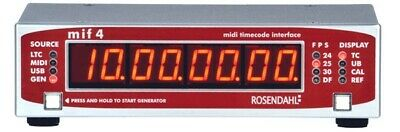 Rosendahl MIF 4 Professional MIDI Timecode Interface • 613.91£