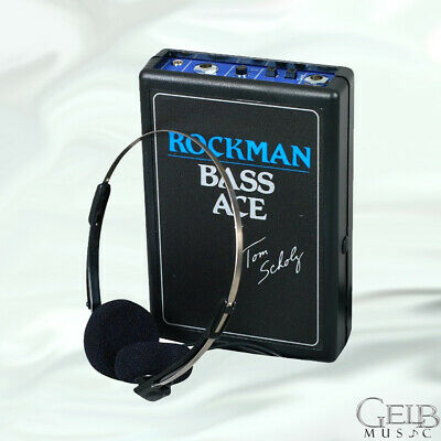 Dunlop Rockman Bass Ace Headphone Amplifier - Rock-BA • 60.20£