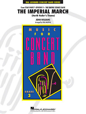 John Williams: The Imperial March (Darth Vader's Theme): Concert Band: Score &