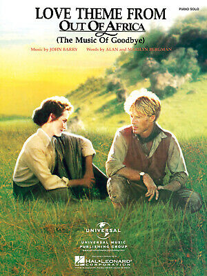 John Barry: Love Theme From Out Of Africa: Piano: Single Sheet