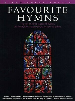 Favourite Hymns: Piano, Vocal, Guitar: Mixed Songbook
