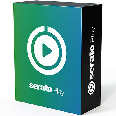 Serato Play, Laptop Only DJ'ing Software (Download) Expansion For Pro Or Lite • 35£