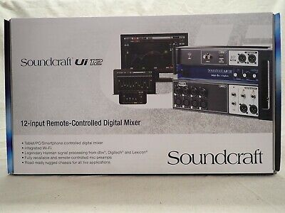 Soundcraft Ui12 Mixing Console • 274.41£
