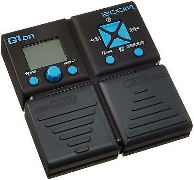 ZOOM G1on Guitar Multi-Effects Processor Guitar Effects Pedal New In Box • 54.20£