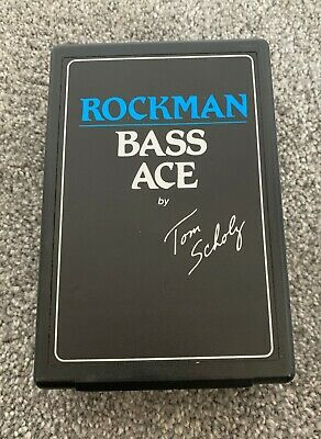 SR&D Rockman Bass Ace Headphone Amp MADE BY Tom Scholz (of The Band Boston)  • 45.04£