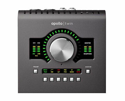 Universal Audio Apollo Twin Duo MKII Thunderbolt 2 Audio Interface With Duo DSP • 612£