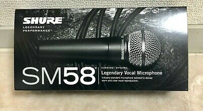 SHURE SM58-LCE Cardioid Dynamic Microphone No Switch Recording Live Performance • 121.99£