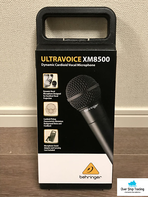 BEHRINGER Ultravoice XM8500 Dynamic Vocal Microphone Cardioid Black With Case • 59.08£