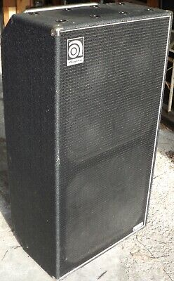 Ampeg 8x10 SVT810E Bass Guitar Cabinet VERY CLEAN-NEVER GIGGED-used At Home Only • 537.03£