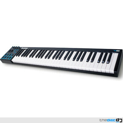 Alesis V61 USB-MIDI Keyboard Inc. Ableton Live Lite & AIR Xpand!2 Software • 134£