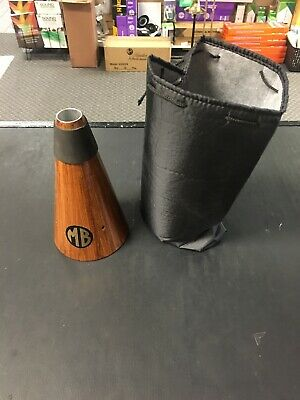 Marcus Bonna Wood French Horn Straight Mute -Free Shipping! • 111.98£