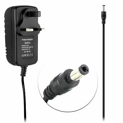 12V Mains Charger Power Supply Lead For TASCAM HS-P82 RECORDER • 9.95£