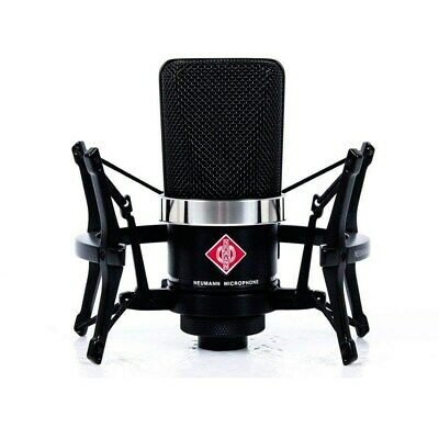 Neumann TLM-102 Large-Diaphragm Studio Condenser Microphone Studio Set Black • 584.45£